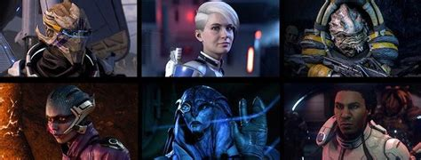 Mass Effect Andromeda Romance options for male and female
