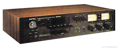 Rotel RD-12F - Manual - Stereo Cassette Deck - HiFi Engine