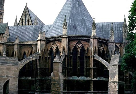 Medieval Lincoln Cathedral -Other Monastic Buildings