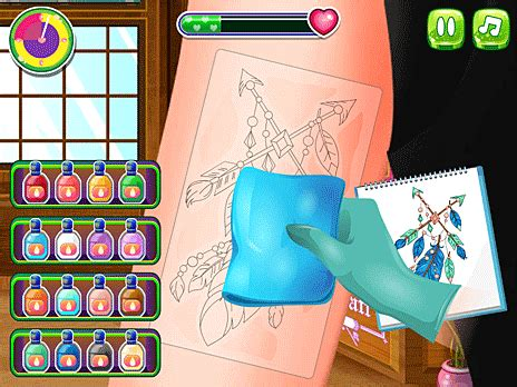 Play Tattoo Party online for Free - POG