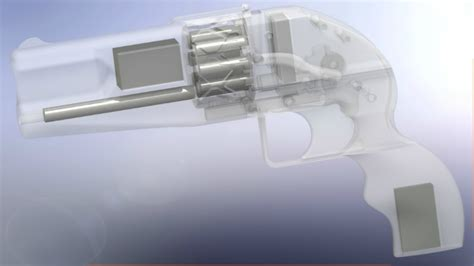 Imura Is a 3D Printed Revolver That Will Probably
