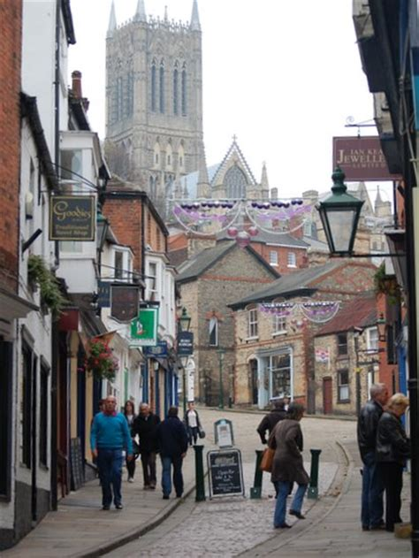 BBC News - Exploring Lincoln's Steep Hill - officially