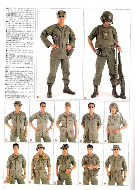 Helicopter crew uniforms 2 (With images)   Vietnam war