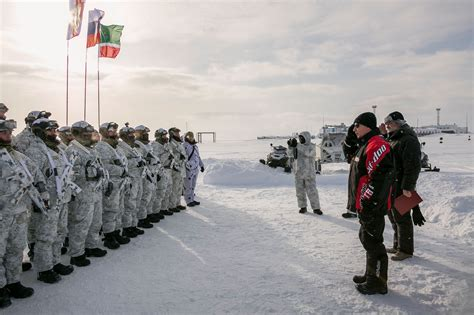 Chechen flag waves at Russia's new Arctic base | The