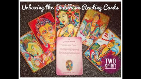 Unboxing the Buddhism Reading Cards - YouTube