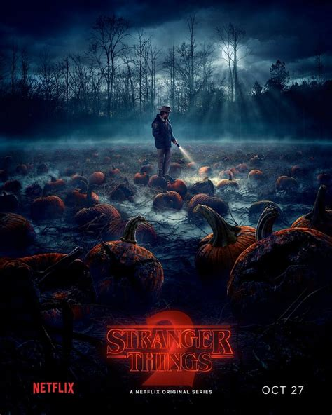 Stranger Things season 2 poster has a traditional