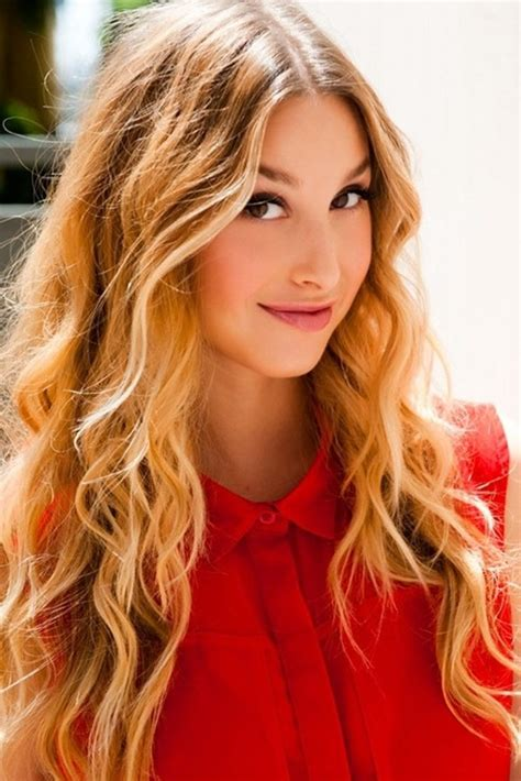 Tousled Waves: Whitney Port Hair Styles - PoPular Haircuts