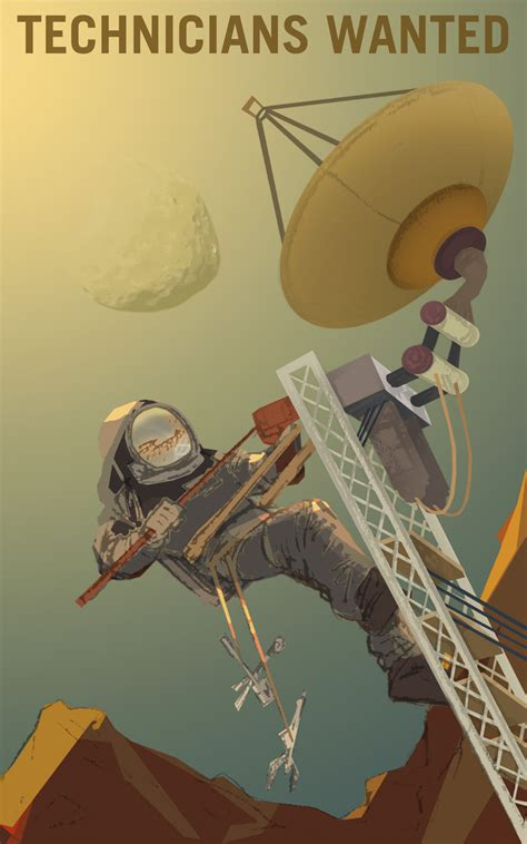NASA Released 'Mars Explorers Wanted' Posters Promoting
