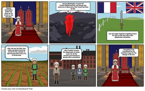 the french and indian war Storyboard by theadenponce
