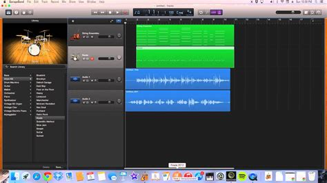 How to Add Audio and Sound Effects to Garageband - YouTube