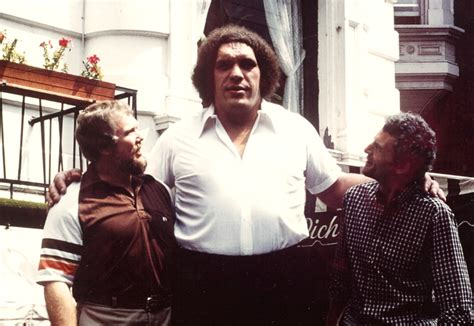 In A New HBO Documentary, Friends Remember Andre the Giant