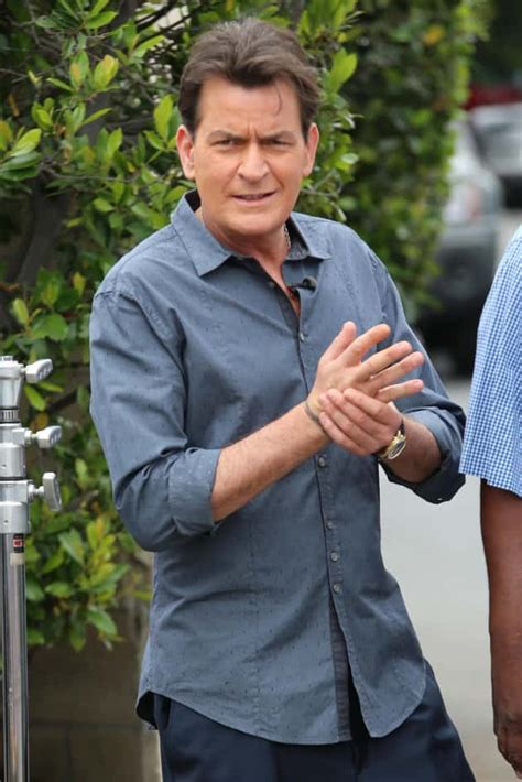 Charlie Sheen Actually Poses with Daughter: What Does She