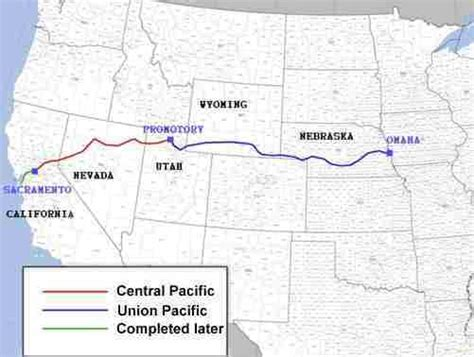 History: First Transcontinental Railroad