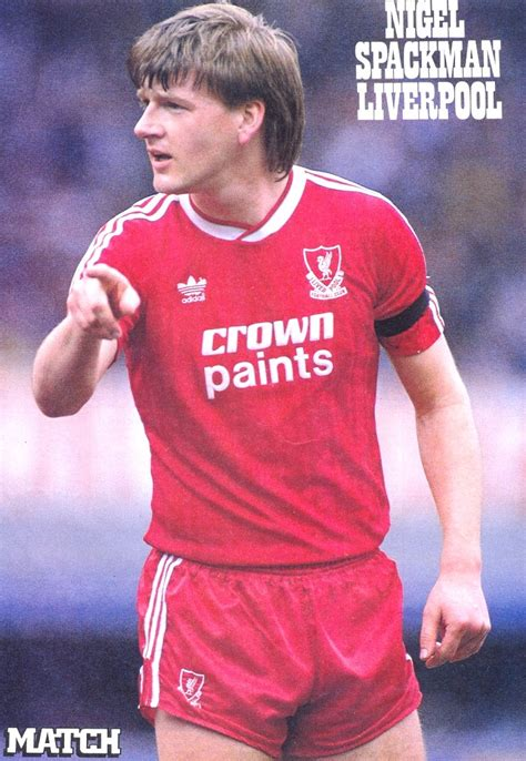 Liverpool career stats for Nigel Spackman - LFChistory