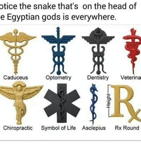 Otice the Snake That's on the Head of E Egyptian Gods Is