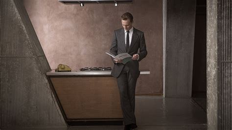 Tom Hiddleston loves his ominously classy apartment in the