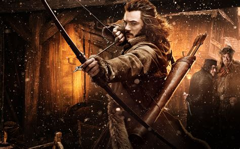 Bard the Bowman, his daughters and their outfits | Hobbit