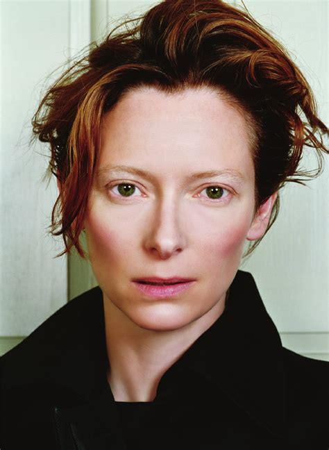 Reflection for today…Questioning Identity -Tilda Swinton