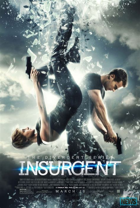 New Posters for Insurgent, Ted 2, The Duff, San Andreas