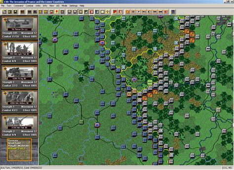 HPS Simulations: The First Blitzkrieg