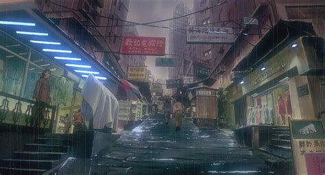 Ghost In The Shell Must Be The Most Detailed Animated