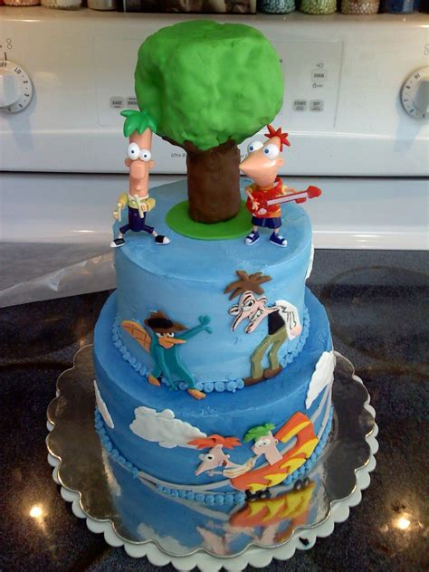 Phineas and Ferb Cakes – Decoration Ideas | Little