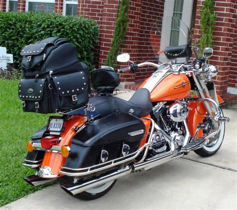 Road King Classic Seat and Bags - Harley Davidson Forums