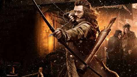 Lord of the Rings The Hobbit Bow Arrow Luke Evans Bard