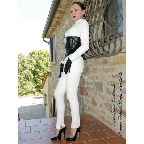 Leather catsuit DS-704 : Crazy-Outfits - webshop for