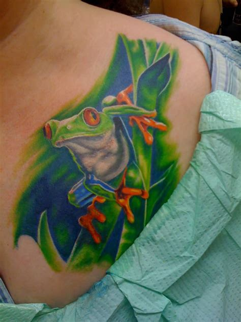 Frog Tattoo Images & Designs