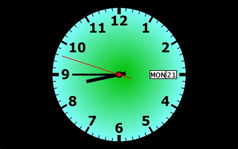 Free Clock Screensaver - Free download and software