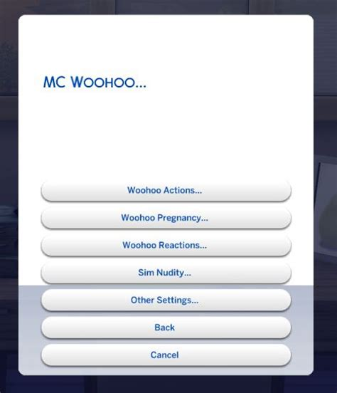 The Sims 4 Mod: A Guide to MC Command Centre - Sims Community