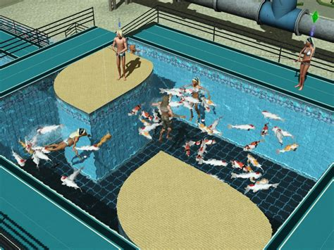 Mod The Sims - (UPDATE: 23-SEP-2014) Fish In Pools & Fountains