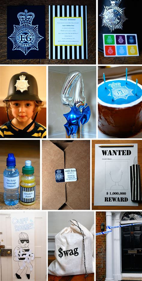 A Cops 'n Robbers Party Babyccino Kids: Daily tips