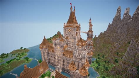 How To Minecraft: Build an Awesome Castle! (Difficult