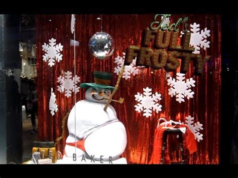 Saucy Sexy Snowman in a Red G-String - Ted Baker Christmas