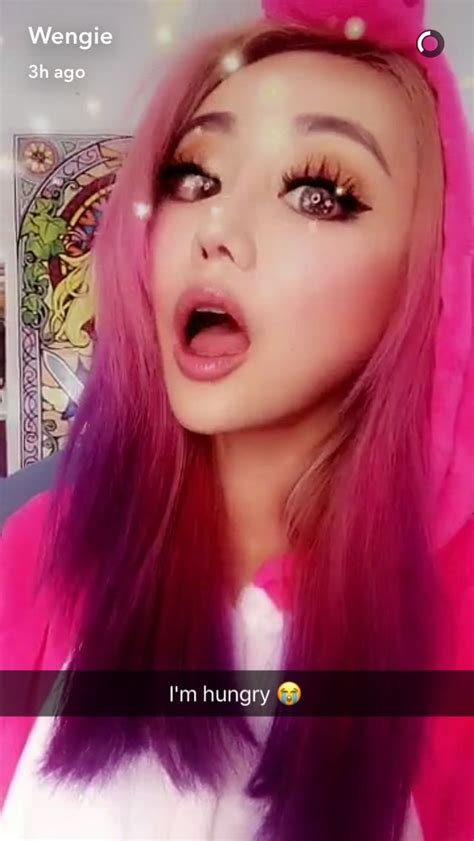 #Wengie | Edgy hair, Wengie hair, Hair color