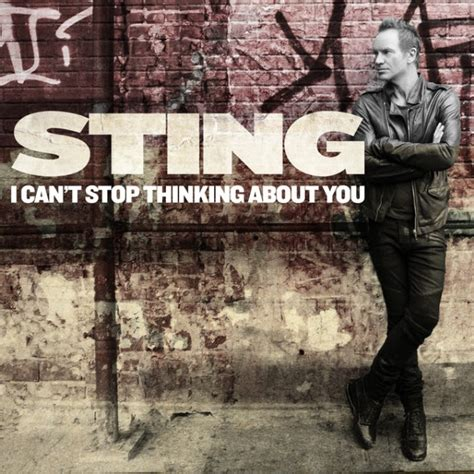 """Sting – """"I Can't Stop Thinking About You"""" - Stereogum"""