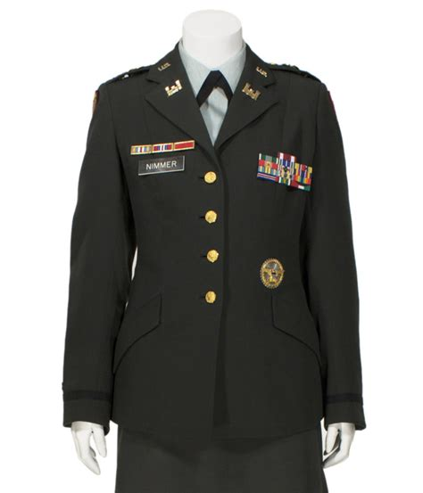 US Army Female Green Service Uniform (Class A's), Officer